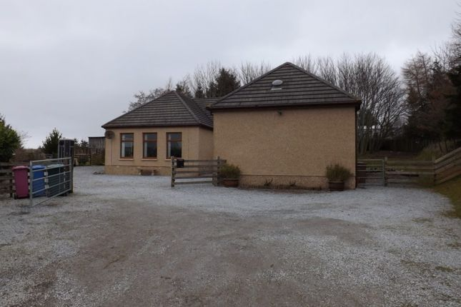 Thumbnail Detached bungalow for sale in Obisview, Forgie, Keith