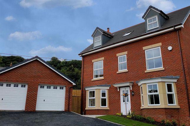 Thumbnail Detached house for sale in Plot 62, Maes Helyg, Vicarage Road, Llangollen