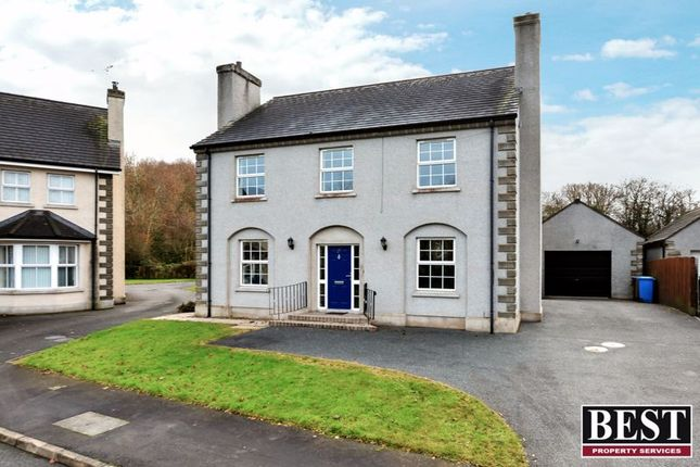 Thumbnail Detached house for sale in The Meadows, Moy, Dungannon
