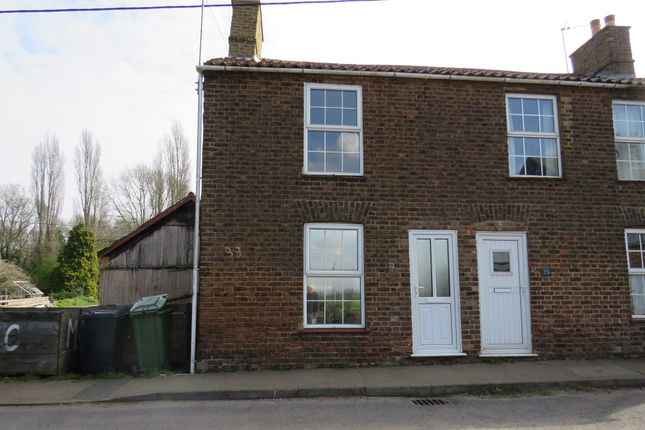 3 bed semi-detached house for sale in School Road, Upwell, Wisbech PE14