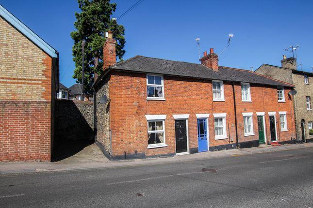 Thumbnail End terrace house for sale in Debden Road, Saffron Walden