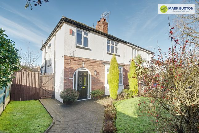 Thumbnail Semi-detached house for sale in Myott Avenue, Westlands, Newcastle Under Lyme