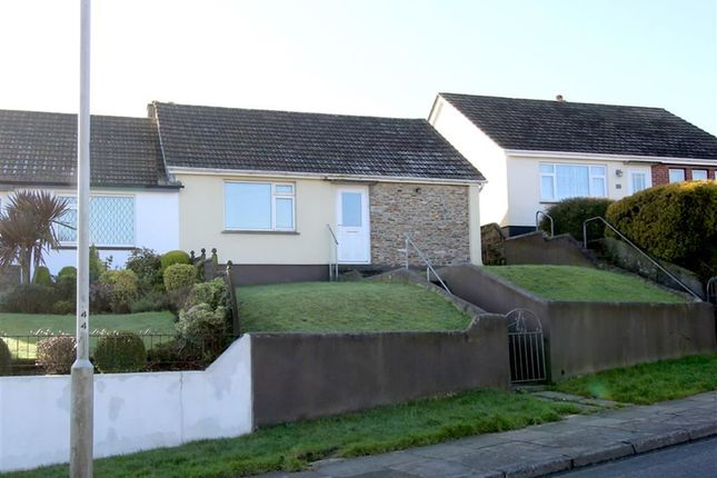 Thumbnail Semi-detached bungalow for sale in Eggbuckland Road, Higher Compton, Plymouth