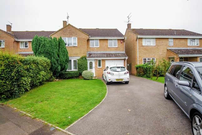 Thumbnail Detached house for sale in Cromwell, Freshbrook, Swindon
