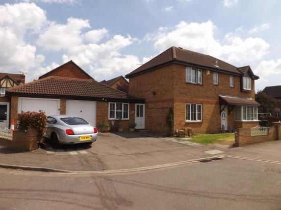 Thumbnail Detached house for sale in Chaucer Drive, Biggleswade, Bedfordshire