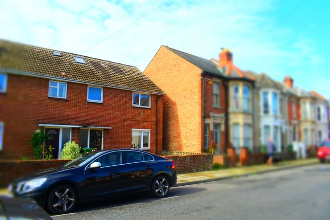 Thumbnail End terrace house to rent in Delamere Road, Southsea