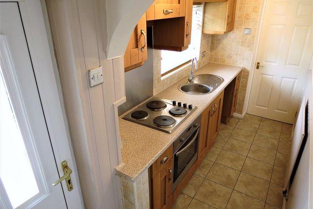 Kitchen of Carlton Terrace, Easington Village, County Durham SR8