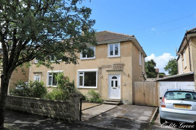 Thumbnail Semi-detached house for sale in Oolite Grove, Odd Down, Bath