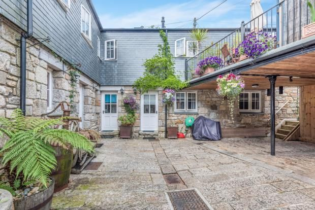 Thumbnail Town house for sale in St Michaels Mews, Mount Street, Penzance
