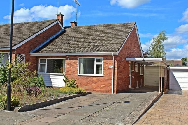 Thumbnail Semi-detached bungalow for sale in Girdlers Close, Styvechale Grange, Coventry, West Midlands