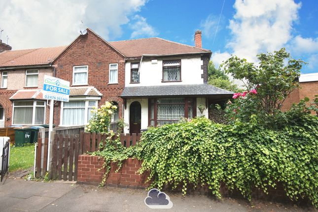 End terrace house for sale in Yelverton Road, Radford, Coventry
