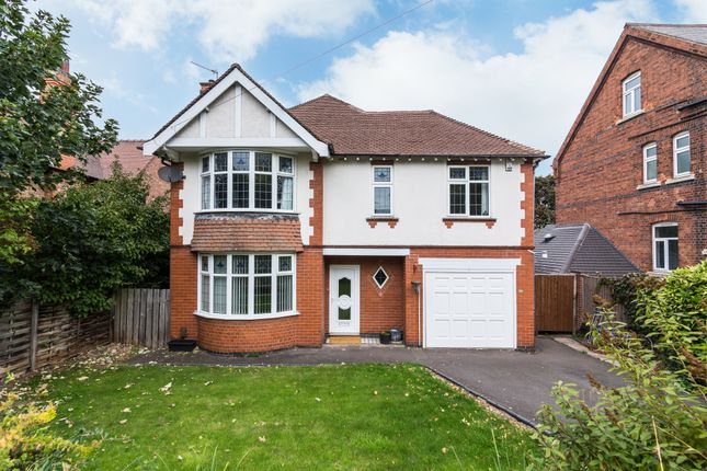 Thumbnail Detached house for sale in Burton Road, Derby