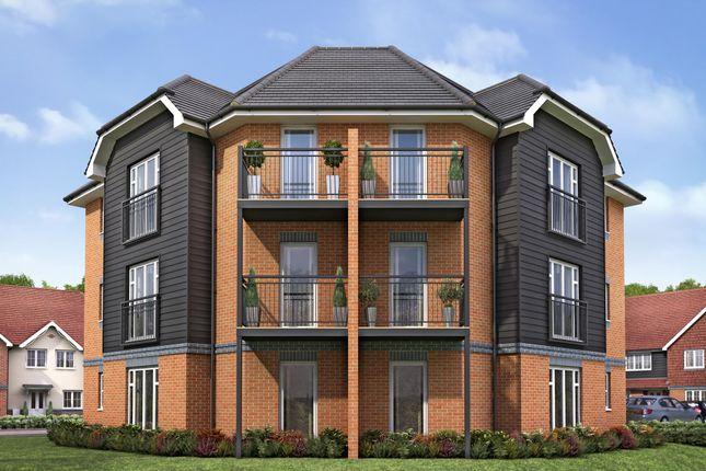 "Thumbnail Flat for sale in ""Oaksmeade Court"" at Pearce Way, Bishopdown, Salisbury"