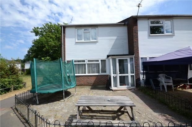 Thumbnail End terrace house for sale in Carmarthen Close, Farnborough, Hampshire