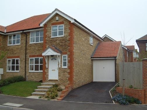 Thumbnail Semi-detached house to rent in Rosewood Drive, Ashford