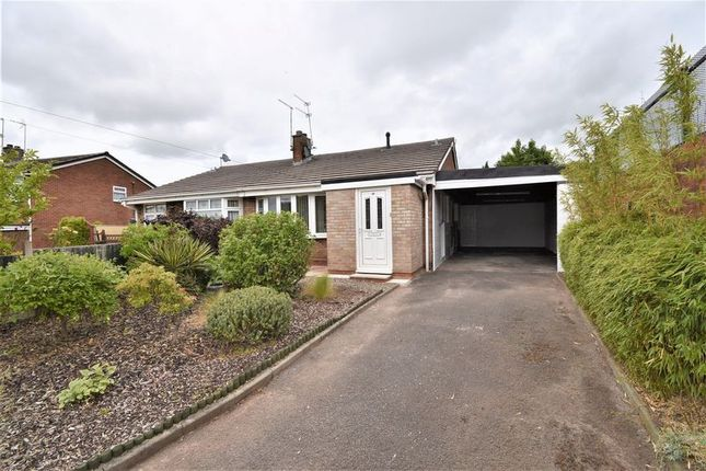 Thumbnail Semi-detached bungalow for sale in 49 Oldcroft, Telford