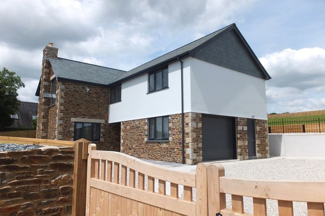 Thumbnail Detached house for sale in Ellbridge Lane, Hatt, Saltash, Cornwall