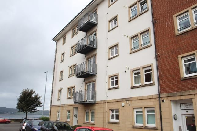 Thumbnail Flat for sale in Harwood Court, Campbell Street, Greenock