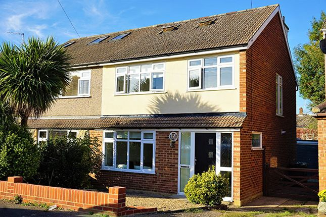 Thumbnail Semi-detached house for sale in Newlands Close, Brentwood