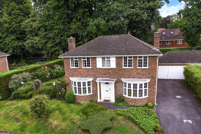 Thumbnail Detached house for sale in Amberwood Drive, Camberley, Surrey