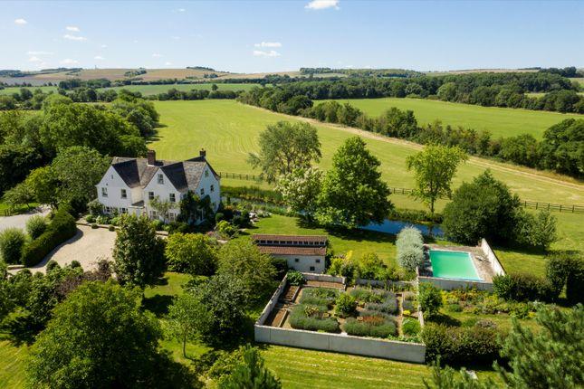 Thumbnail Farm for sale in Broadleaze Farm, Westcot Lane, Sparsholt, Wantage, Oxfordshire