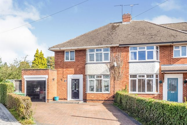 Thumbnail Semi-detached house for sale in Meadow Close, Leamington Spa
