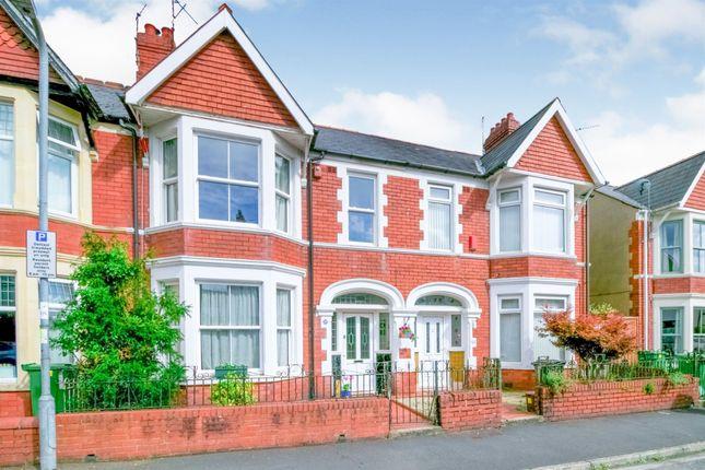 Thumbnail Terraced house for sale in York Street, Canton, Cardiff