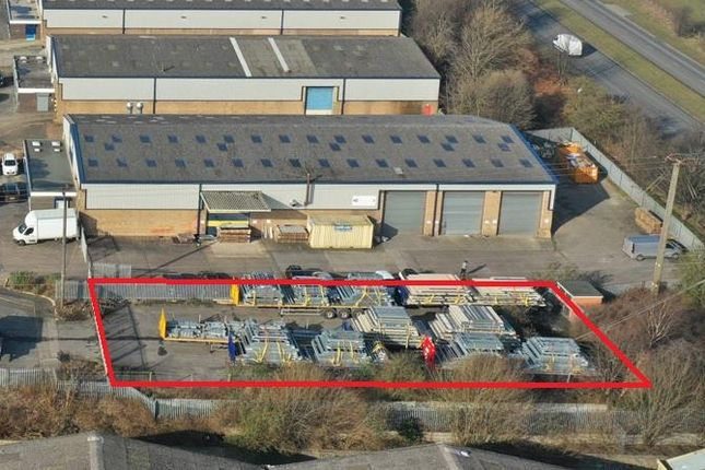 Thumbnail Land to let in Secure Storage Compound, Sandbeds Trading Estate, Ossett, West Yorkshire
