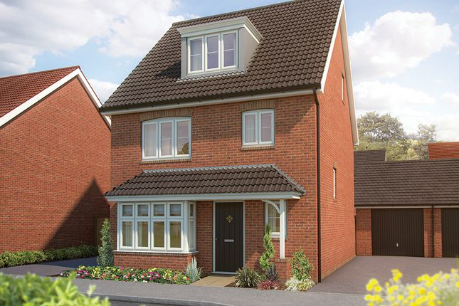 """Thumbnail Detached house for sale in """"The Willow """" at Drake Grove, Burndell Road, Yapton, Arundel"""