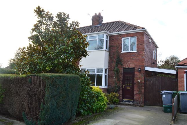 Thumbnail Semi-detached house to rent in Edgware Road, York