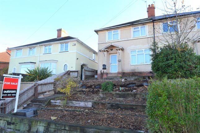 Thumbnail Semi-detached house for sale in Kendal Rise Road, Rednal, Birmingham