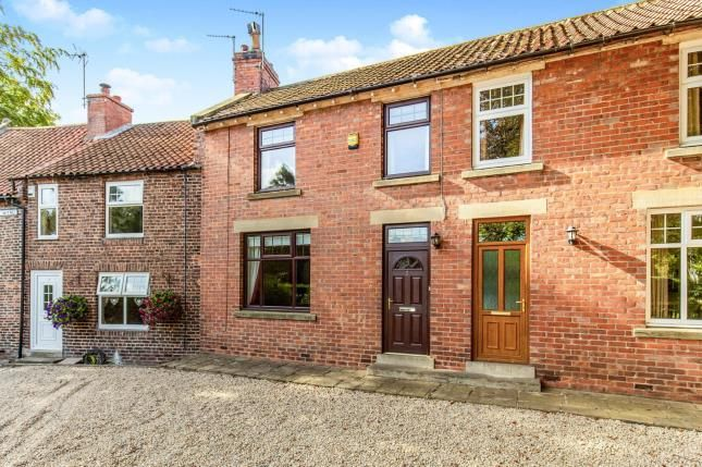 Thumbnail Terraced house for sale in The Wynd, Hutton Rudby, Yarm, North Yorkshire