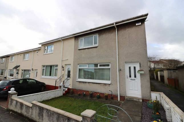 Thumbnail End terrace house for sale in Crown Street, Baillieston
