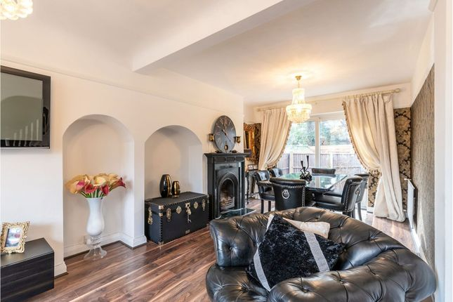 Thumbnail Semi-detached house for sale in Aspen Gardens, Mitcham