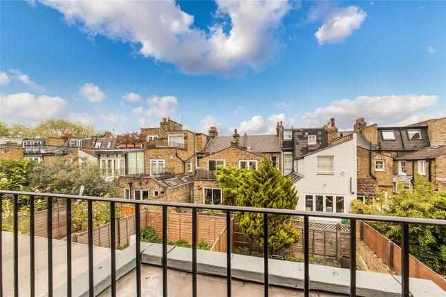 Balcony of Friston Street, Parsons Green, Fulham, London SW6
