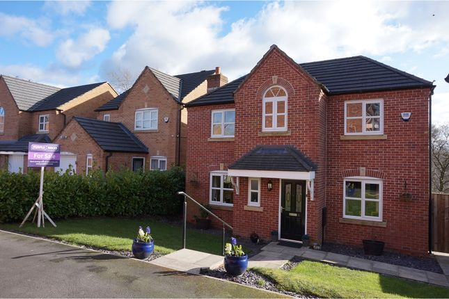 Thumbnail Detached house for sale in Hutchinson Close, Radcliffe