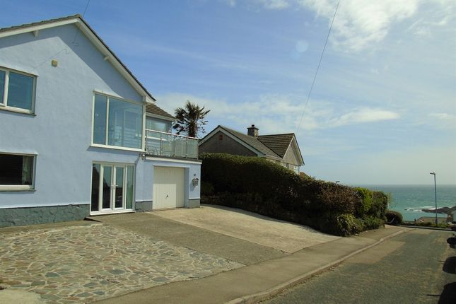 Thumbnail Detached house for sale in Prevenna Road, Mousehole, Penzance, Cornwall.