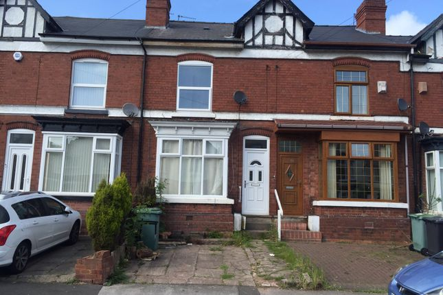 Thumbnail Terraced house to rent in The Crescent, Walsall, West Midlands