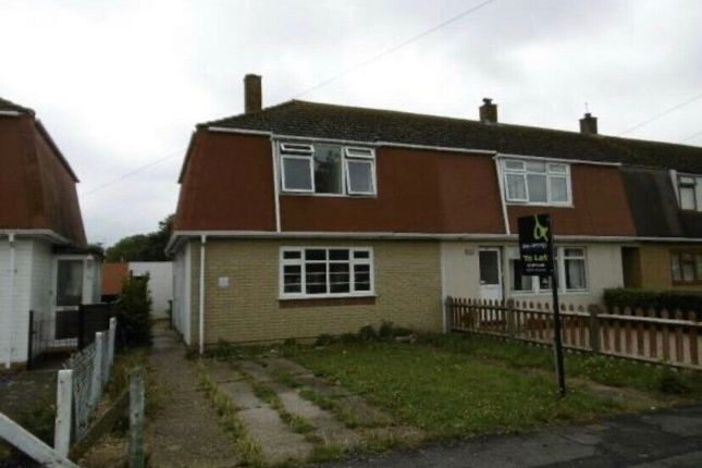 Thumbnail Semi-detached house to rent in Marks Road, Stubbington
