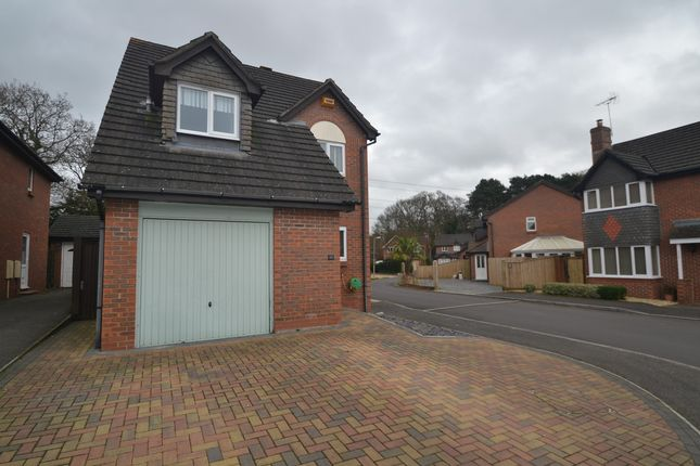 Thumbnail Detached house to rent in Hazelwood Drive, Verwood