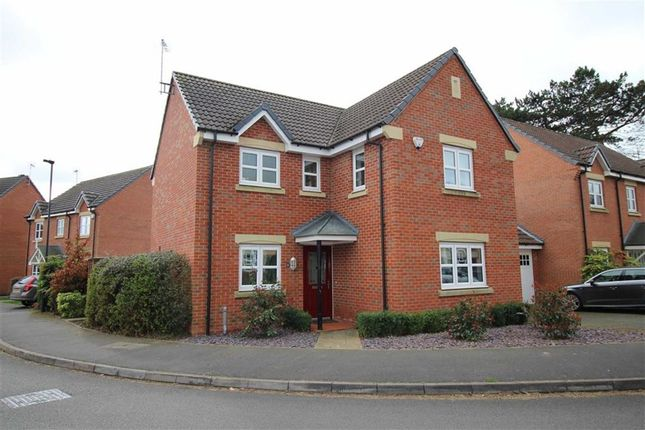 Thumbnail Detached house for sale in Highfields Park Drive, Allestree, Derby