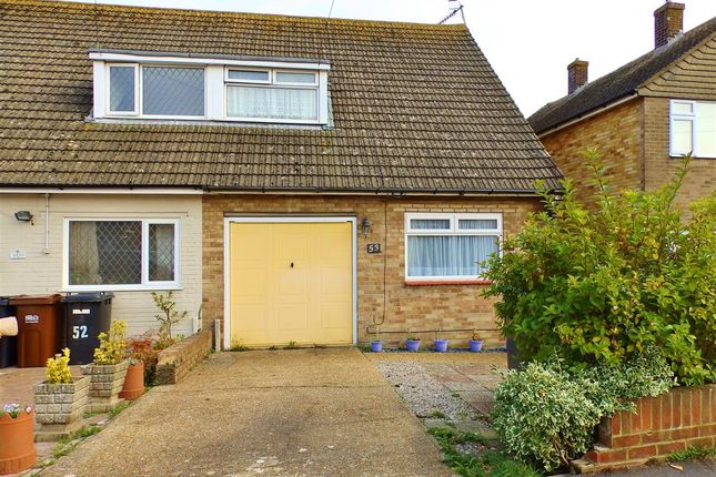 Thumbnail Semi-detached house for sale in Westfield Close, Polegate