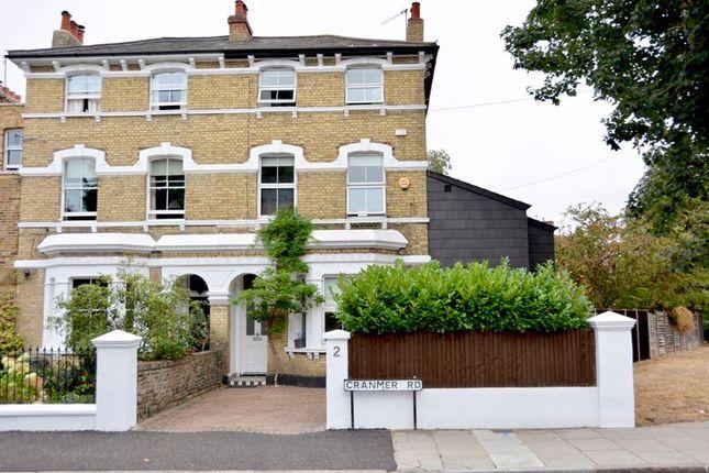 Thumbnail Semi-detached house for sale in Cranmer Road, Hampton Hill, Hampton