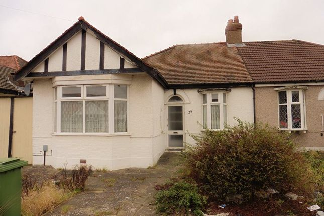 Thumbnail Bungalow to rent in Kelston Road, Ilford