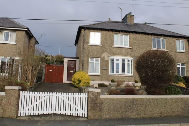 Thumbnail Semi-detached house for sale in Colby, Colby, Isle Of Man