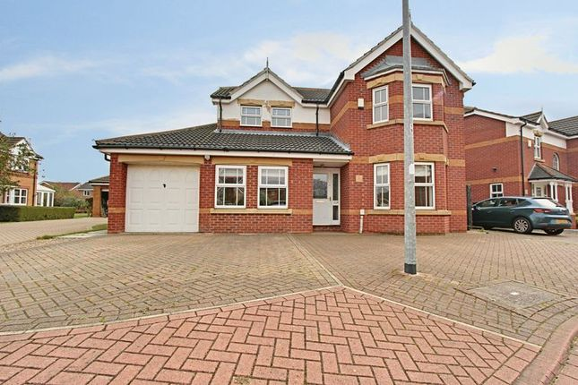 Thumbnail Detached house for sale in Carter Drive, Beverley