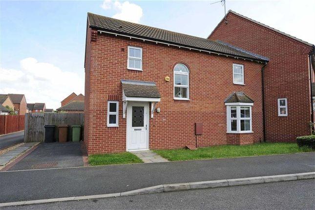 Thumbnail End terrace house for sale in John Lea Way, Wellingborough