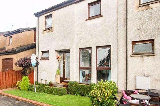 Thumbnail End terrace house for sale in Kestrel Court, Hardgate, Clydebank