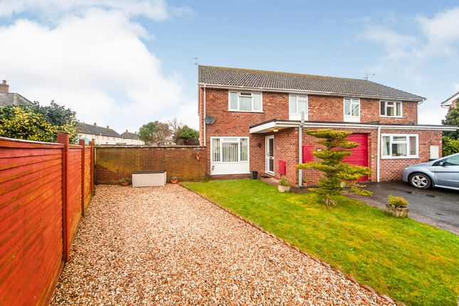 Thumbnail Semi-detached house for sale in Dovetons Close, Williton, Taunton