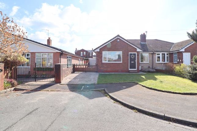 3 bed semi-detached bungalow for sale in Vicars Hall Gardens, Worsley, Manchester M28